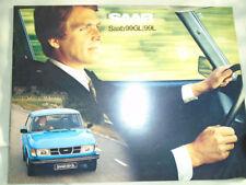Saab 99 GL & 99L range brochure 1978