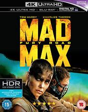 Mad Max: Fury Road (4K Ultra HD + Blu-ray) Tom Hardy, Charlize Theron
