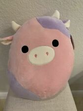 "Squishmallow Patty The Cow 16"" Stuffed Animal Soft Plush RARE NWT - Last One!"