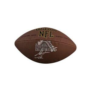 Antonio Gates Autographed Wilson Football - BAS COA
