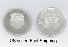 2017 President Donald Trump Inaugural Silver EAGLE Commemorative Novelty Coin...