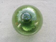 """Rare 22"""" Japanese Glass Fishing Float Marked Wp#2"""