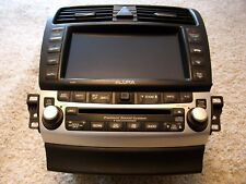 04 05 06 07 08 ACURA TSX RADIO NAVIGATION 6-DISC CD PLAYER CLIMATE CONTROL OEM