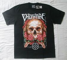 Bullet For My Valentine Skull and Roses large t-shirt