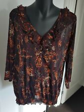 WOMEN'S MILLERS LONG SLEEVE TOP - SIZE 14