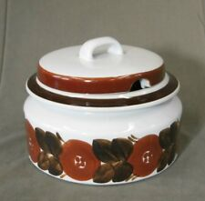 Arabia Romarin Brown bol de soupe terrine Design Conception U. Procope Finlande