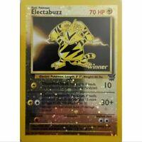 Electabuzz Promo 1 Winner Reverse Holo Pokemon - Elektek - EN NM/Mint