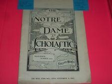 NOTRE DAME SCHOLASTIC 1902