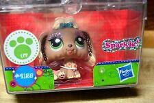 Littlest Pet Shop 2155 New In Box Sparkle Lhasa Apso Dog - Blemished Box