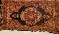 Vintage Tapestry Rug Wall Hanging Decor blue/red/tan