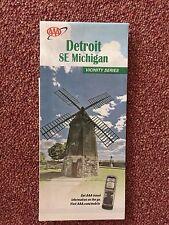 American Automobile Association (AAA) Detroit SE Michigan Road Map 2011-2013