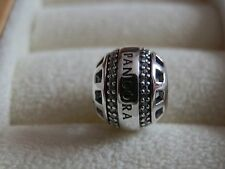 BN GENUINE AUTHENTIC RARE RETIRED FOREVER PANDORA CHARM -791753CZ