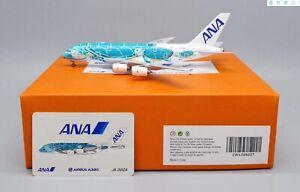 A380, ALL NIPPON AIRWAYS FLYING HONU KAI REG:JA382A - JCWINGS JCEW4388007 1/400