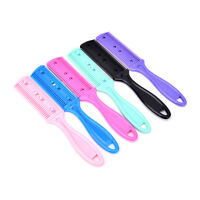 Double Side Thinning Comb Professional Trimmer Shaper Razor Blade Hair Cutter FO