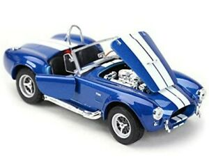 WELLY SHELBY AC COBRA 427 1965 1/24 SCALE CAR DIECAST MODEL