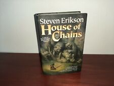 House of Chains 1st US Hardcover Steven Erikson