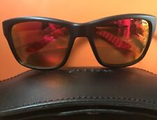 f855bcf004 CARRERA Sunglasses 8013 S 0DL5 Matte Black And Red Trim Fire Red Mirror  Lenses
