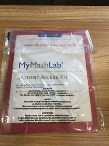 MyMathLab Student Access Code - NEW