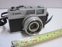 Canon Canonet 28 35mm Rangefinder Film Camera 40mm f2.8 lens FOR PARTS or REPAIR