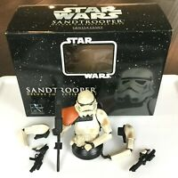 Star Wars SANDTROOPER Gentle Giant BUST - 2005 Deluxe - w/Box & COA