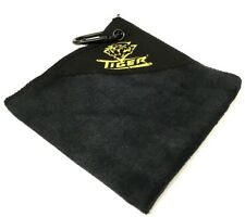 New Tiger Microfiber Towel with Hook - Pool Cue Towel to Hang on Your Case