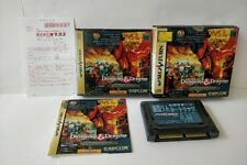 Dungeons and Dragons Collection + 4M RAM Boxed Set for SEGA SATURN tested-a1017-