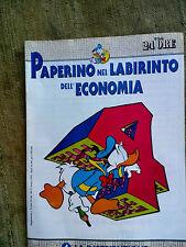 Paperino nel labirinto dell'economia fascicolo n.4  La distibuzione