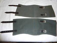 Gamaschen Armee Militär Nässeschutz Stiefel Militaria NVA Volksarmee Uniform