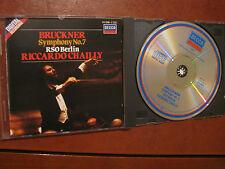 BRUCKNER Symphony No.7- RSO Berlin-Chailly -CD- DECCA- fino 2 cd spese fisse