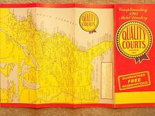 1961 QUALITY COURTS UNITED INC MOTEL DIRECTORY ALLING & MILES INC ROCHESTER N Y