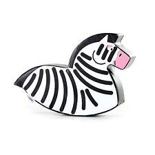 Implay Soft Play PVC Foam Children's Zebra Horse Rocker Activity Toy