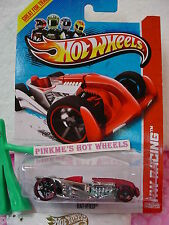 Case C 2013 Hot Wheels RAT-IFIED #146 US∞Red & Chrome∞HW Racing∞Super Chromes
