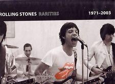"Rolling STONES ""Rarities 1971-2003"" 16 track vinile DLP RARE"