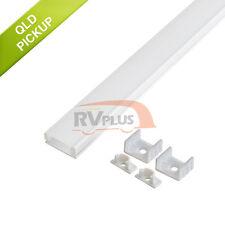 1M/100CM Thin Extrusion Aluminum Channel Bar for Strip Lights Bathroom Showcase