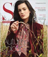 UK S Magazine September 2018: PATRICK DEMPSEY Sophia Money-Coutts VOGUE WILLIAMS