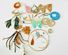 Small Bundle Of Odd Jewellery Earrings SOME PAIRS (26 PIECES)