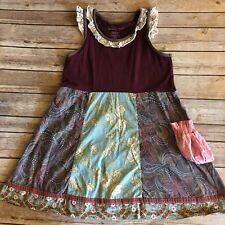 MJC Matilda Jane Clothing Gypsy Blue MAYA Dress Size 8 (BinM)
