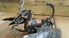 Dragon Metal Sculpture. Handcrafted Mystic Dragon. 28cm.
