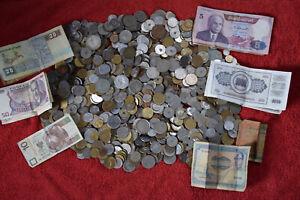 Münzen/Banknoten Sammlung ca. 4,7kg Welt