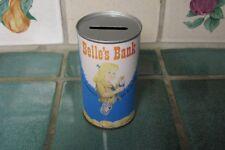 BELLE'S BANK /  BELFAST SODA BANK *SHASTA IMITATION STRAWBERRY SODA LABEL INSIDE