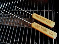 NEW Set of 2 Handmade HOOK & COOK BBQ Kitchen & Grill Cooking Tools Meat Turners