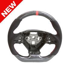 Handkraftd 2014+ Chevrolet Corvette Steering Wheel - Carbon/Alcantara/Red Stitch
