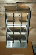 """Cryogenic Cryo Storage Rack Stainless Steel -80 Freezer Tray Rack 22 x 5.5 x 11"""""""