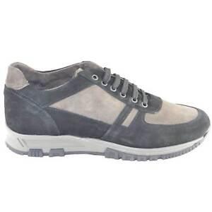 Scarpe uomo calzature comode linea comfort made in italy vera pelle scamosciata