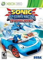 XBOX 360 - SONIC ALL-STARS RACING TRANSFORMED BRAND NEW SEALED