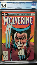 Wolverine Limited Series #1 CGC 9.4 NM  1st Solo Wolverine Comic