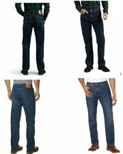 NEW Men's Levi's 505 Jeans Blue Straight Leg Sits at waist Extra room in thigh