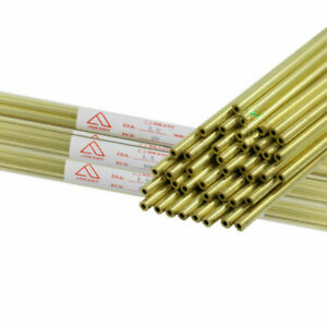 Ø0.3&Ø1.0&Ø2.5X400mm EDM Drilling Electrode Single-Hole Brass Tube Total 55pcs