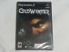 NEW Cold Winter Playstation 2 Game SEALED PS2 fps coldwinter US NTSC