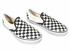 Vans Unisex Classic Slip On Checker Beige/Black Shoes M 6 W 7.5 - 721356